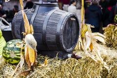 Baril de vin de chêne Photos stock