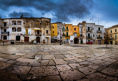 Baril old town Panoramic view Royalty Free Stock Photography