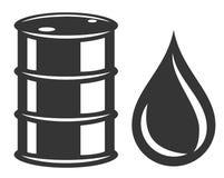 Barile da olio Immagine Stock