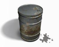 Barile da olio Fotografie Stock Libere da Diritti