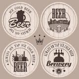 Barili della birra Fotografie Stock