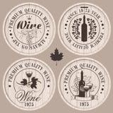 Barili di vino Immagine Stock Libera da Diritti