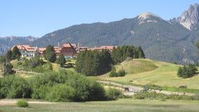 Bariloche ареальных стоковая фотография rf
