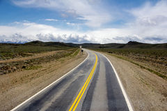 Open Road in Argentina royalty free stock photo