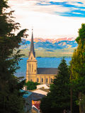 Bariloche Cathedral Royalty Free Stock Images