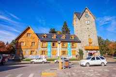The Bariloche Civic Centre Royalty Free Stock Images