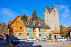 The Bariloche Civic Centre Stock Images