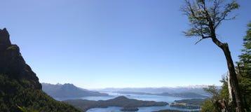 Bariloche e le montagne Fotografia Stock Libera da Diritti