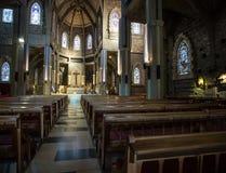 Bariloche interno della chiesa Fotografie Stock