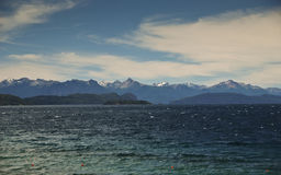 Bariloche Lake Royalty Free Stock Photos