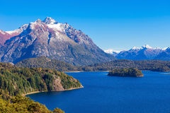 Bariloche Landscape In Argentina Royalty Free Stock Images