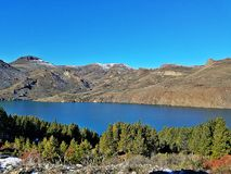 Bariloche love royalty free stock photography
