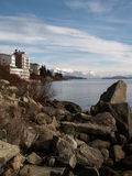 Bariloche Mountain And Lake Royalty Free Stock Photos
