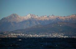 Bariloche/nahuel huapi lake. View of Bariloche and Nahuel Huapi Lake in Patagonia Stock Image