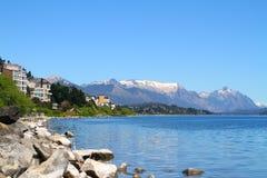 Bariloche och Nahuel Huapi Lake - Argentina Arkivfoto