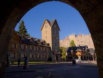 Bariloche square Stock Photography