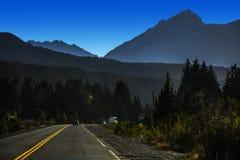 Bariloche - Weg 40 Stockbild