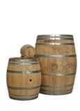 Barilotti del cognac fotografie stock