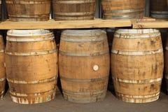 Barilotti della quercia Immagine Stock