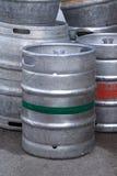 Barilotti di birra immagine stock