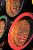 Barilotti di birra di legno della Baviera Fotografie Stock Libere da Diritti