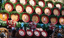 Barilotti di birra di Oktoberfest Fotografia Stock Libera da Diritti