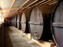 Barilotti di vino Fotografie Stock Libere da Diritti