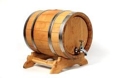 Barilotti per vino fotografia stock