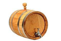 Barilotti per vino Fotografie Stock