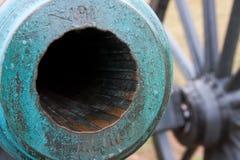 Barilotto del cannone Immagini Stock