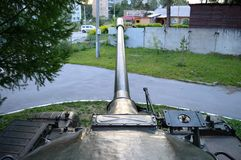 Barilotto del carro armato da sopra Fotografia Stock