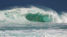Barilotto del nord massiccio del hawaiano della riva fotografie stock libere da diritti