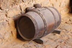 Barilotto della polvere nera Fotografia Stock Libera da Diritti