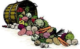 Barilotto delle verdure illustrazione vettoriale