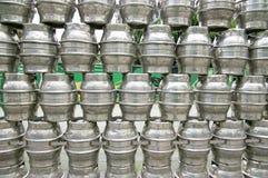 Barilotto di birra d'acciaio Immagine Stock Libera da Diritti