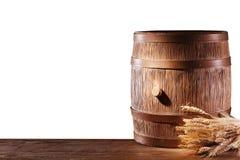 Barilotto di legno. Fotografia Stock