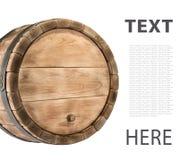 Barilotto di legno Immagine Stock Libera da Diritti