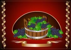 Barilotto di vino Fotografia Stock