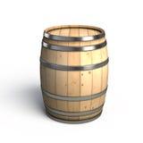 Barilotto di vino illustrazione di stock