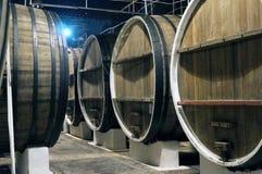 Barilotto di vino Fotografie Stock Libere da Diritti