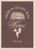 Barilotto di vino illustrazione vettoriale