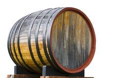 Barilotto di vino della quercia Fotografie Stock Libere da Diritti