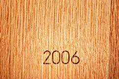 Barilotto di vino della quercia dei 2006 americani Fotografia Stock Libera da Diritti