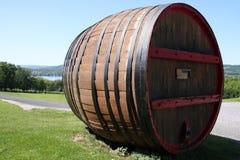 Barilotto di vino gigante Fotografie Stock