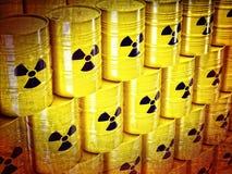 Barilotto radioattivo illustrazione vettoriale