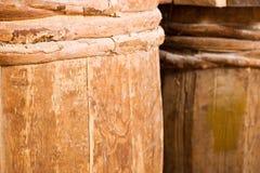 Barils complet en bois images stock