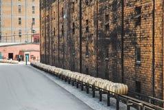 Barils de Bourbon image libre de droits