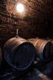 Barils de vin photo stock