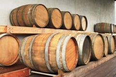 Barils de vin Photographie stock