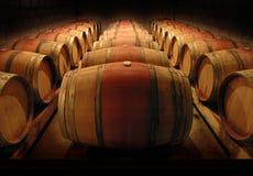 Barils de vin Image libre de droits